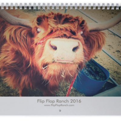 Flip Flop Ranch Calendar cover