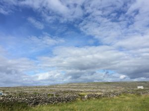 Aran islands inis mor stone walls fields