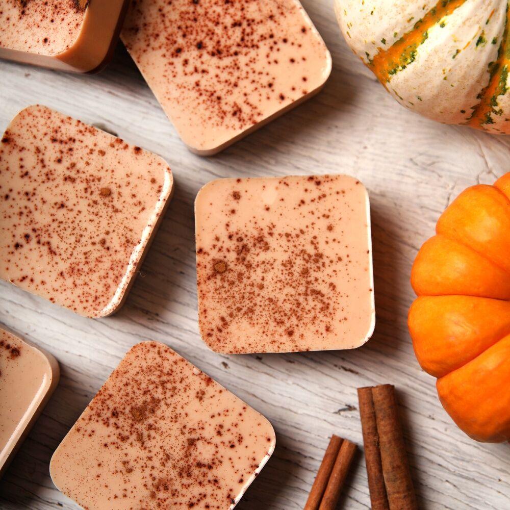 pumpkin spice soap soapmaking class